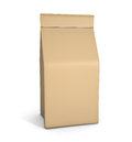 Paper bag package on white background Stock Image