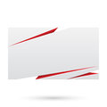 Paper blank paper design template illustration Royalty Free Stock Images