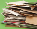 Paper and cardboard for recycling Stock Photography
