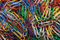 Paper clips background Royalty Free Stock Photography