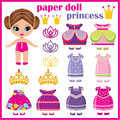 Paper doll princess .