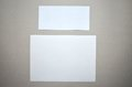 Paper and envelope Royalty Free Stock Photo