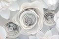 Paper Flower Design Royalty Free Stock Photo
