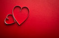 Carta cuore forma