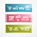 Paper Labels, Tags, Stickers Stock Images