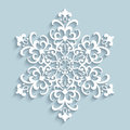 Paper lace snowflake