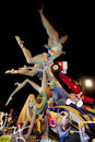Paper mache figures, Valencia, Fallas Royalty Free Stock Photography