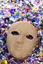 Paper-mache mask Royalty Free Stock Photos