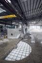 Paper mill machine Royalty Free Stock Photo
