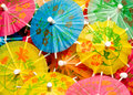 Paper Parasol Royalty Free Stock Photo