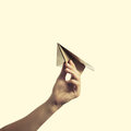 Paper plane 2 Royalty Free Stock Photo