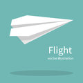 Paper plane vector Royalty Free Stock Photo