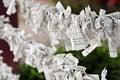 Paper Prayers Stock Photography