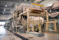 Paper and pulp mill - Factory, Plant Royalty Free Stock Photo
