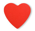 Paper red heart Royalty Free Stock Photo