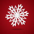 Paper snowflake Royalty Free Stock Photography