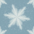 Paper snowflake seamless pattern christmas illustration vector Royalty Free Stock Photo