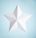 Paper Star Royalty Free Stock Photo