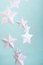 Paper Stars Royalty Free Stock Photo