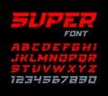 Paper style Super font