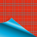 Paper with Tartan pattern Royalty Free Stock Images
