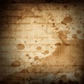 Paper texture old with some stains and spots on it Royalty Free Stock Photos