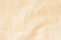 Paper texture vintager, cardboard background for design with copy space text or image. Recyclable material. Wrinkled Royalty Free Stock Photo