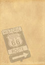 Paper vintage with texas background Royalty Free Stock Photos