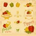 Paprika, pepper,