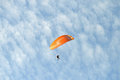 Para glider a competing in the santa pola championship Royalty Free Stock Photography