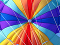 Parachute detail Stock Photography