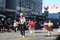 Parade dancers chinese new year in downtown los angeles february st Royalty Free Stock Image