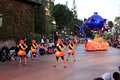 Parade at disney s california adventure a fun disneyland park in anaheim Stock Image