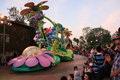Parade at disney s california adventure a fun disneyland park in anaheim Stock Photo