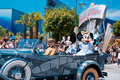 Parade met Mickey Mouse Royalty-vrije Stock Foto