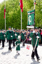 Parade in oslo on th may norwegian constitution day is the national day of norway and is an official national holiday observed Royalty Free Stock Photos
