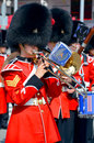 Parade of soldier of the royal nd regiment montreal canada sept and colloquially van doos is an infantry Stock Photography