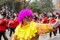 Parade torontos weihnachtsmann Lizenzfreies Stockbild