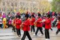 Parade torontos weihnachtsmann Lizenzfreies Stockfoto