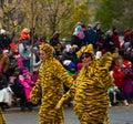 Parade torontos weihnachtsmann Stockfoto