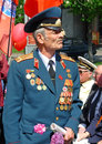 Parade of victory ukraine kiev may ceremonial at kiev main street khreshchatyc dedicated to the th anniversary in great patriotic Stock Images