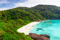 Paradise beach of similan islands thailand Royalty Free Stock Image