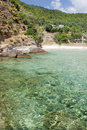 Paradise Beach, Thassos Island Royalty Free Stock Photography