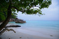 The paradise beach on tropical island with crystal clear sea si similan thailand Stock Image