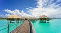 Paradise in Bora Bora Royalty Free Stock Photo