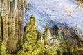 Paradise cave at dong hoi quang binh province vietnam Royalty Free Stock Image