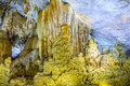Paradise cave at dong hoi quang binh province vietnam Stock Image