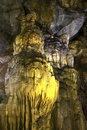 Paradise cave Vietnam impressive formations Royalty Free Stock Photo