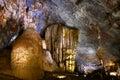 Paradise cave Vietnam impressive limestone formations Royalty Free Stock Photo