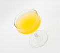 Paradise cocktail is a that contains gin apricot brandy and orange juice Royalty Free Stock Photo